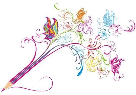 Schrijfoefening: Schrijven met kleur