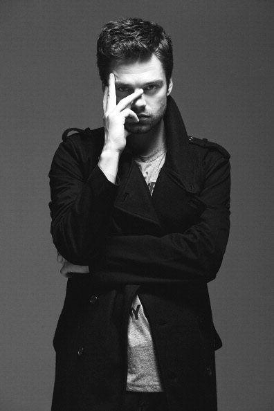 Sebastian Stan is a very good looking man.....