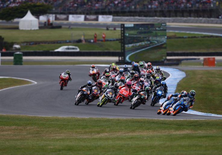 Alex Marquez, Moto3 race, Australian MotoGP 2014
