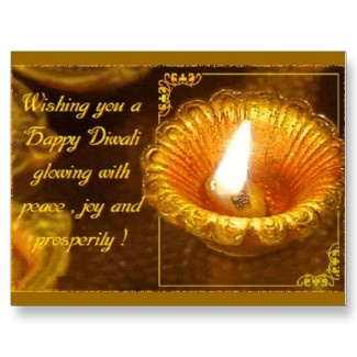 Diwali -3 post cards