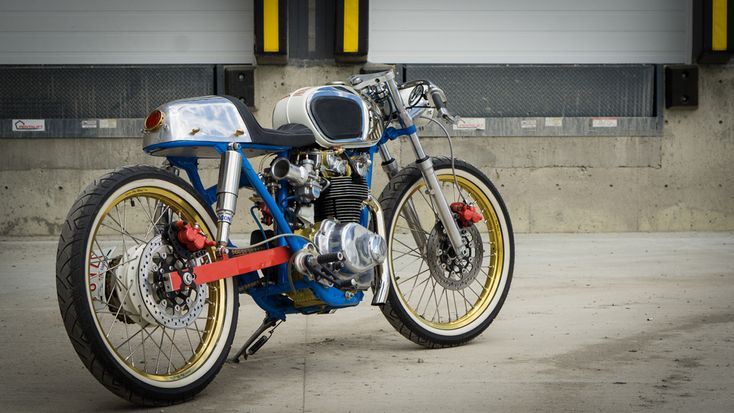 """Honda CB450 Cafe Racer  """"Shinobi"""" by Scott Wilson very much infatuated with Shinya Kimura's philosophy."""
