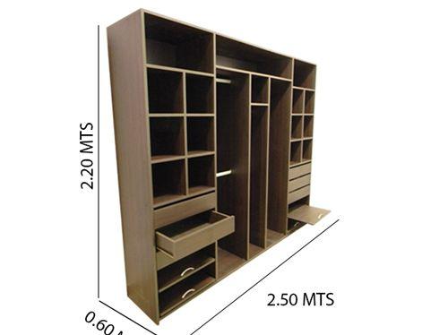 17 mejores ideas sobre closet de melamina en pinterest for Planos para muebles de melamina