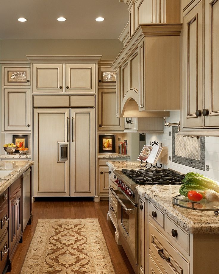 Light Colored Kitchen Cabinets: Dark Or Light Kitchen Cabinets Cream Cabinets With