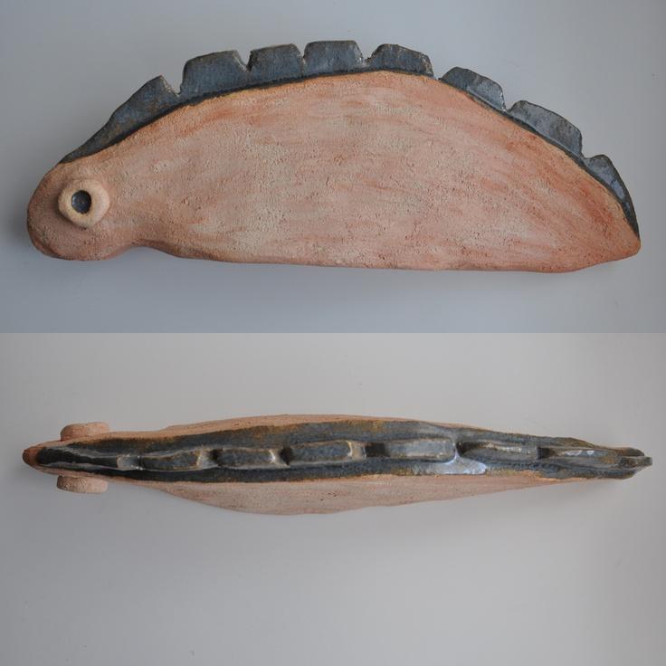 ceramic microorganism; fired and glazed clay by iza hazell