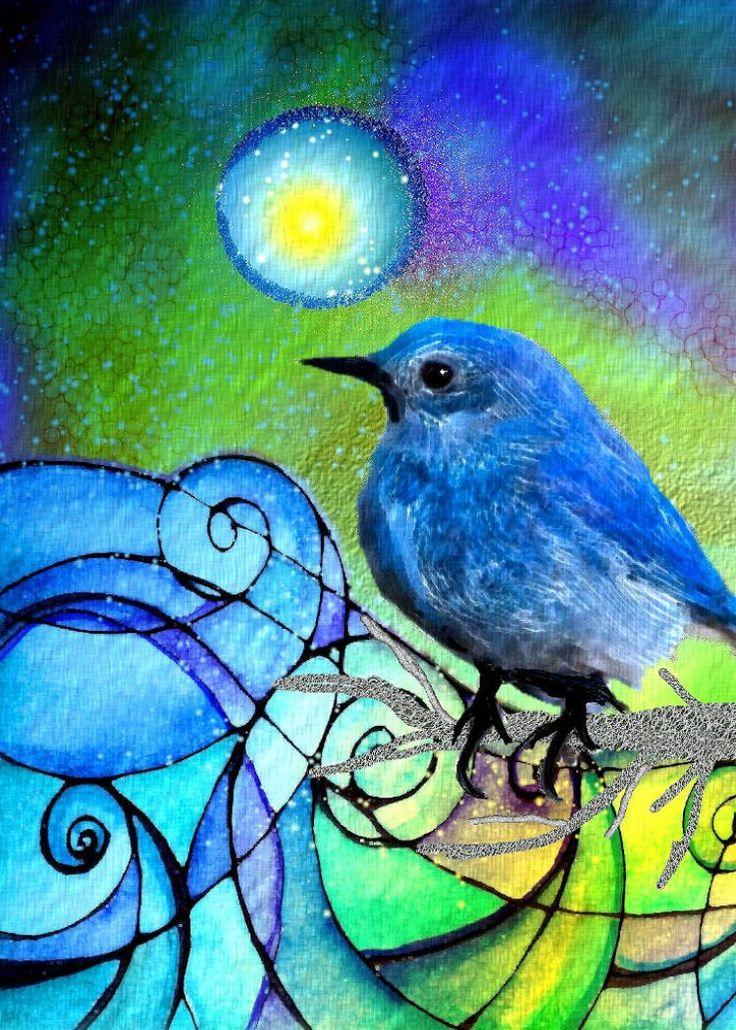 Галактические птицы картинки