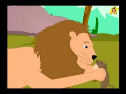 A beautifully animated version of the popular Aesop's fable - The lion and the mouse