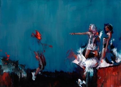 Bristol, UK Artist Ian Francis. My favorite modern painter.