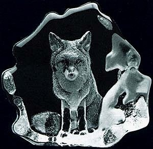 Mats Jonasson Crystal Fox