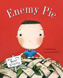 Establishing classroom community at the beginning of the year... third graders especially love this one! Do a read-aloud and let them guess what goes in enemy pie before you read it. So fun!