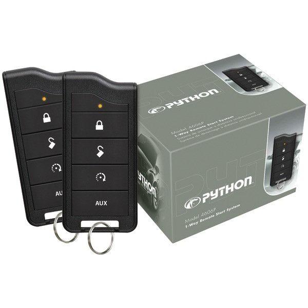 4606P 1-Way Remote-Start System with .5-mile Range & 2 Remotes - PYTHON - 4606P