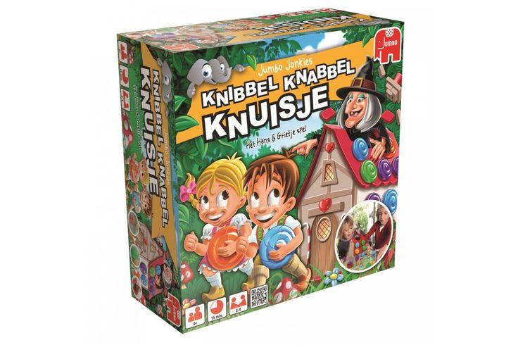 Knibbel Knabbel Knuisje steel jij een snoepje van het heksenhuisje? #jumbo #spel #kindercadeau
