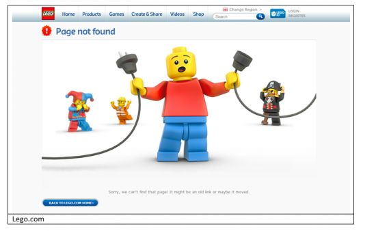 Lego - Page Not Found