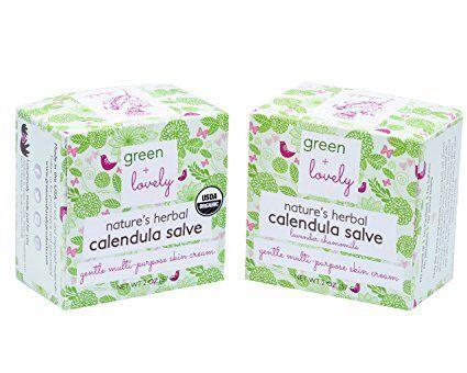 Green + Lovely Nature's Herbal Calendula Salve, USDA Certified Organic. Multipurpose Ointment, Skin Cream, Lotion, Moisturizer. Sensitive Skin Formula + Sting Free. Eczema & Psoriasis Cream. http://www.pickvitamin.com/green-lovely-nature-s-herbal-calendula-salve-2-oz.html #EczemaMoisturizer