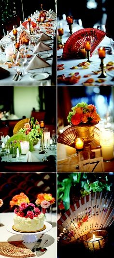 Spanish Table Wedding Decor