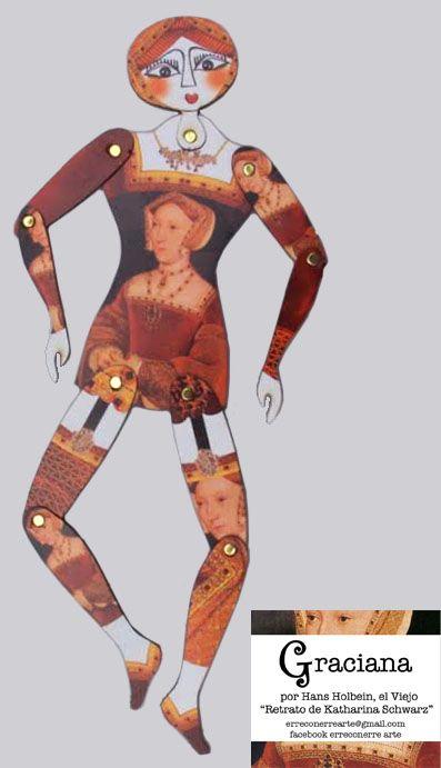 vestida x Holbein