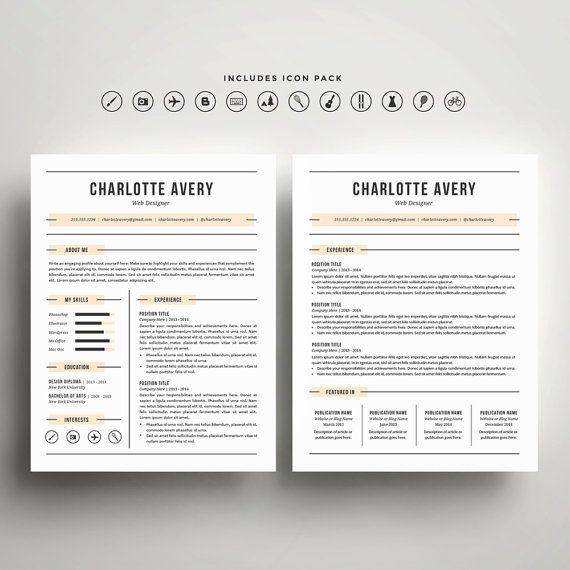 Best Design  Resumes Images On   Resume Resume