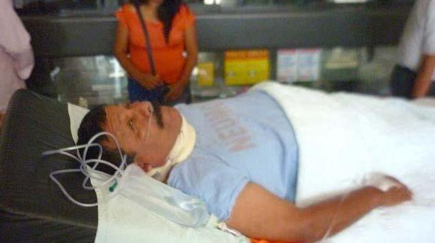Tomás Zamudio fue trasladado a la Clínica San Juan de Dios http://hbanoticias.com/5768