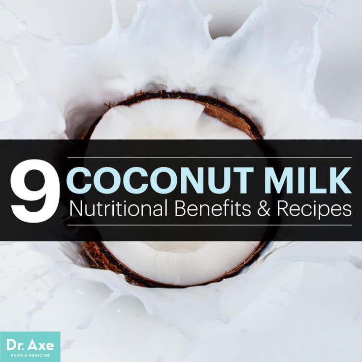 "Coconut Milk Nutrition — 9 Benefits -- Coconut milk is often considered a ""miracle liquid"" since coconut milk nutrition offers great ability to build up the body's immune defenses and prevent disease."