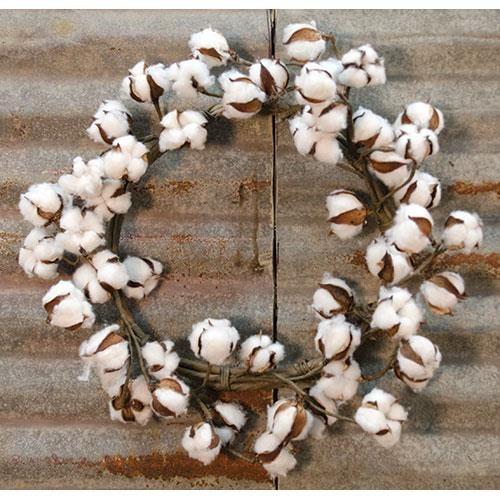 "Magnolia 22"" Cotton Wreath"