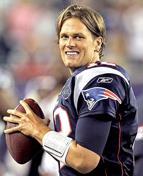 Tom Brady Wants to Grow His Hair Long Again - Us Weekly  oh NO...I like your hair now and the SCRUFF!!