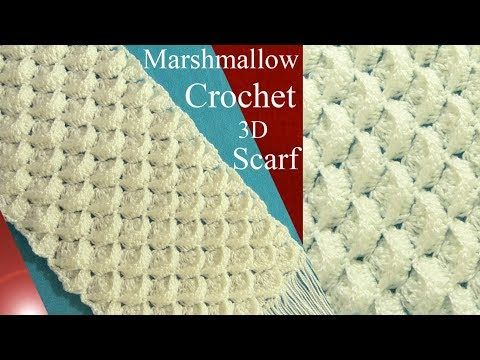 Châle couronnes crochet facile / Crowns shawl crochet (english subtitles) - YouTube