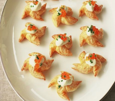 Easy homemade holiday appetizers savory stars click pic for Easy christmas appetizers finger foods
