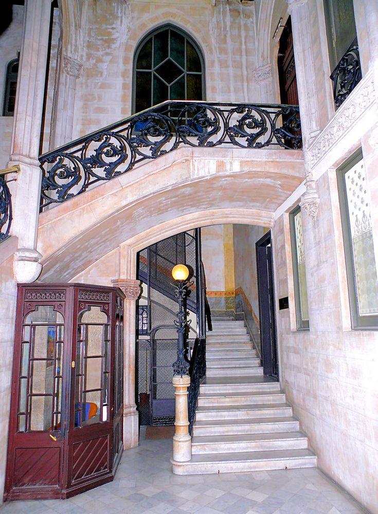 Casa Gustau Peyra  1895  Architect: Enric Sagnier i Villavecchia