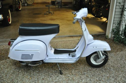 1974 1975 Vespa 150 Super Scooter Vintage Hot Rod Rat Lambretta