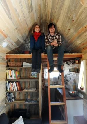1000 images about Tiny House Lofts and bedding on Pinterest