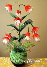 Resultado de imagen de flores de medias