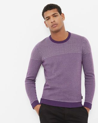 Shop Now - >  https://api.shopstyle.com/action/apiVisitRetailer?id=625477435&pid=uid6996-25233114-59 Striped crew neck sweater  ...