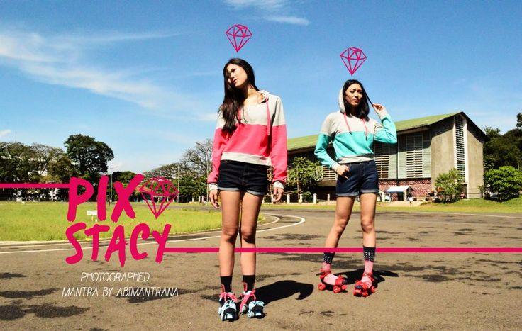 #PEPPERMINT TOSS! Photographed by: Achmad Faza Abimantrana Model: Syahnaz Sadiqah & Mia Halim MUA: Jessica Puteri Wilhelmina