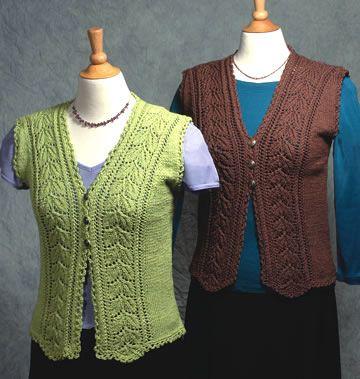 Knitted Vests Free Patterns : 25+ best Knit vest pattern ideas on Pinterest Knit vest, Knit shrug and Sum...