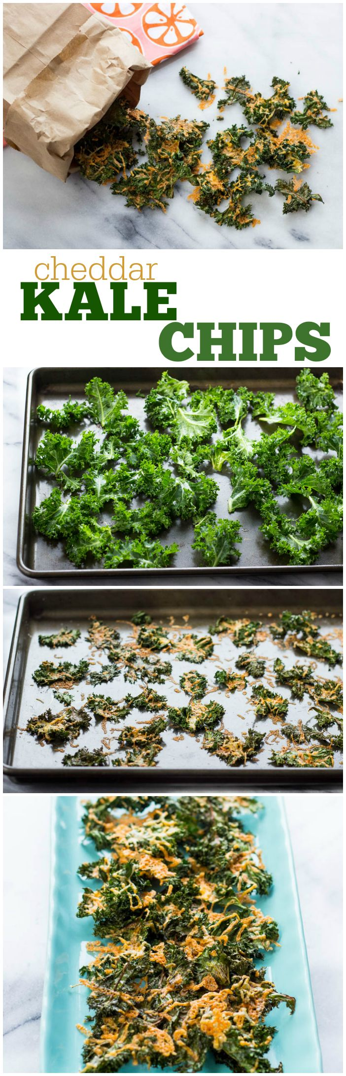 Switch potato chips for healthier kale chips!