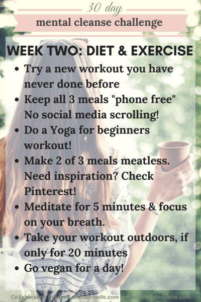 Mental Cleanse Challenge: Week Two | www.awelderswife.com
