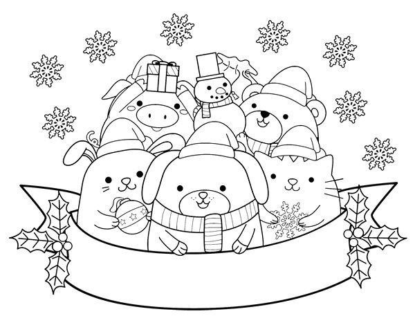 Dibujos Para Colorear On Line De Navidad: 97 Mejores Imágenes De Dibujos De Navidad Para Colorear En