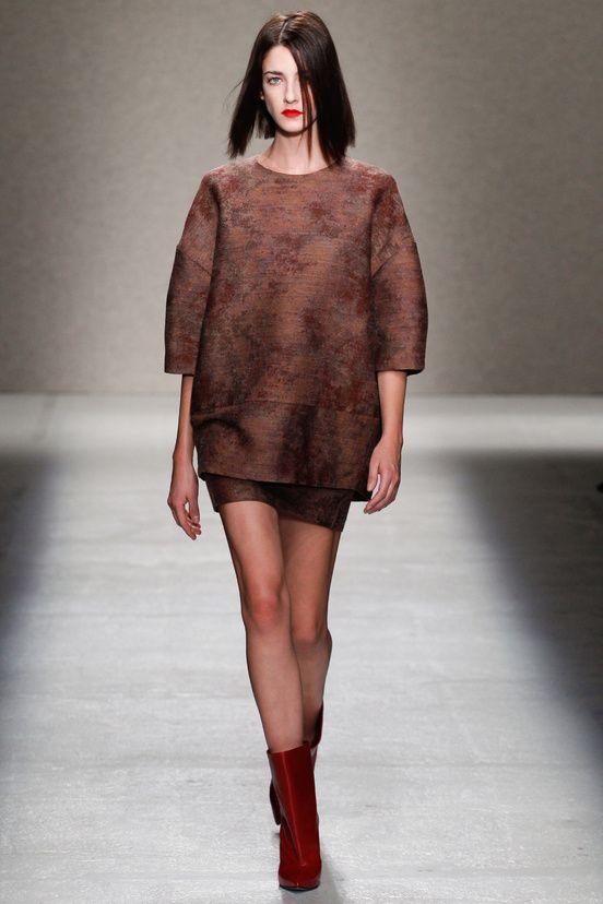 #moda #fashion Photos and reviews of the AF Vandevorst Collections Fall Winter 2014-15 collection #AFVandevorst