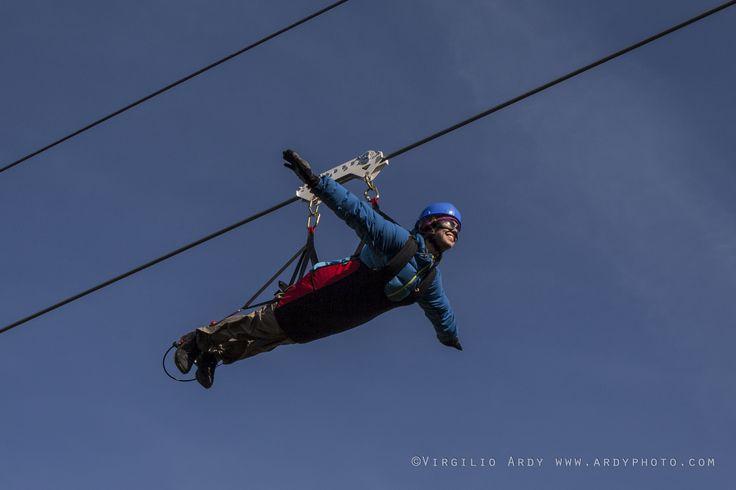 A Frassinetto volare è un sogno possibile a 400 mt di altezza