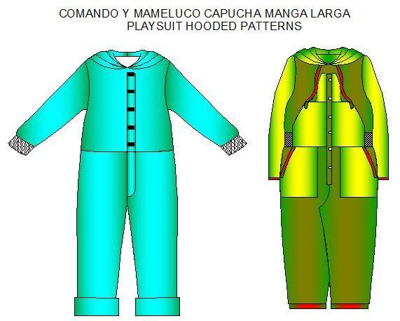 moldes para confecionar comandos y mamelucos de nios moldes de ropa y sistemas de diseo