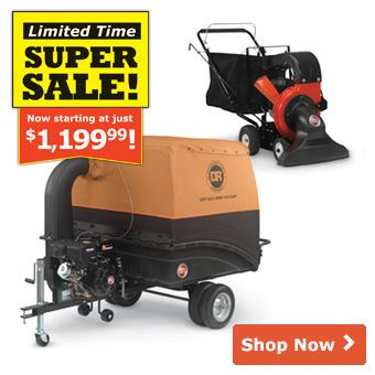 Tow-Behind Leaf and Lawn Vacuums | DR Power Equipment
