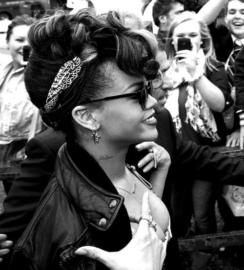 Riri - love black and white photos
