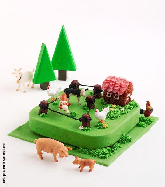 Bauernhof-Torte