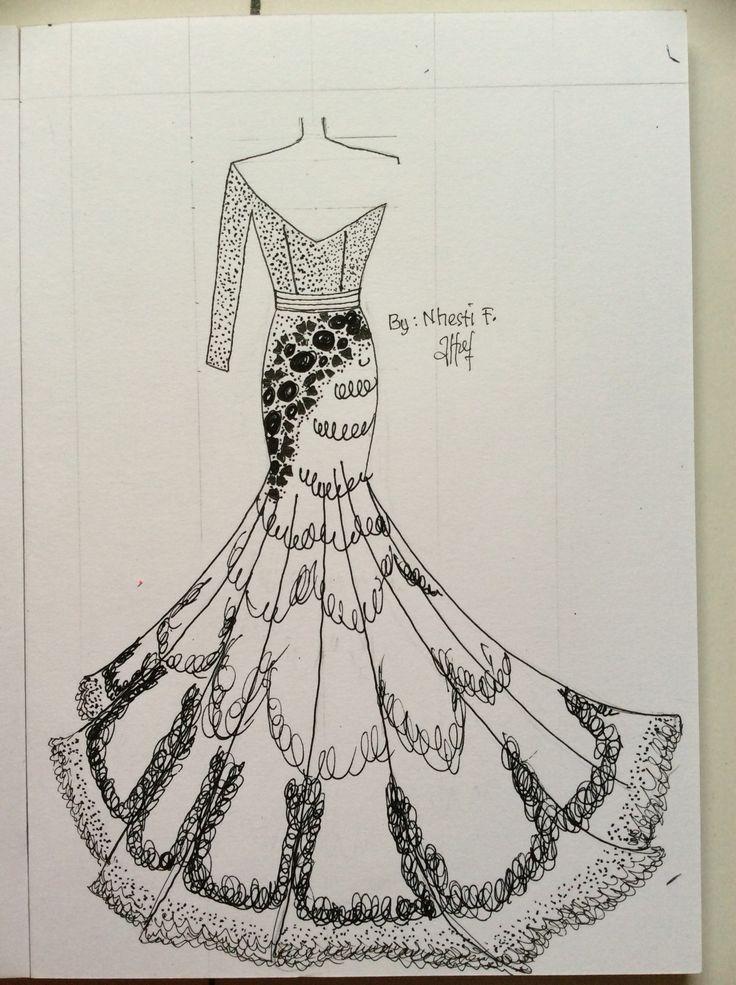 Yellow fashion designer