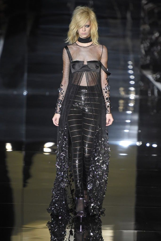 Tom Ford RTW Spring 2015 [Photo by Giovanni Giannoni]