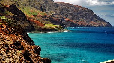 Na Pali Coast photos.  Beautiful... On The Island of Kauai