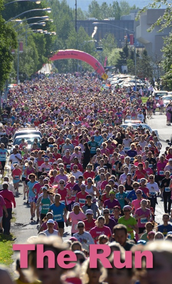 The Alaska Run for Women occurs every summer in efforts to raise money for and awareness of breast cancer and women's health, and to showcase the talents of Alaska's women athletes. GCI has been a proud and longtime sponsor of this event.