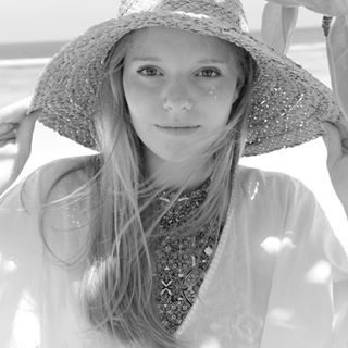 Took this pic of my oldest daughter on the beach