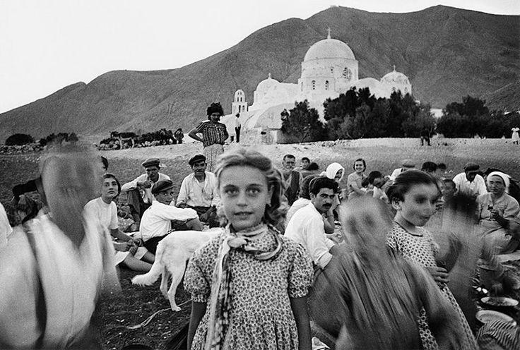 whileatsea: (Περίσσα, Σαντορίνη, Ελλάδα, 1956) από τον William Klein