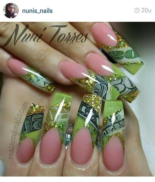 1069 best Dope Nails :) images on Pinterest | Nail designs, Nail ...