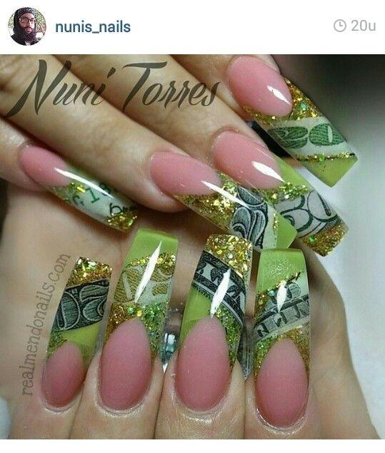 Mejores 570 imágenes de Nails en Pinterest | Uñas bonitas, Diseños ...